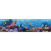 Disney Finding Nemo Blue Prepasted Wall Border