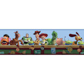 Disney Toy Story Toy Chest Prepasted Wall Border