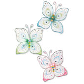 Butterfly Kisses Wall Embellishment Charms