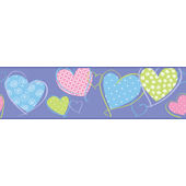 Love U Lots Hearts Purple Wallpaper  SALEBorder