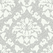 Gray Damask Wiskins Wallpaper