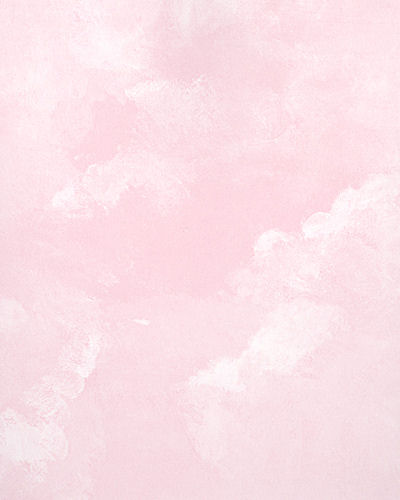 Light pink faux cloud wallpaper for Pink wallpaper for walls