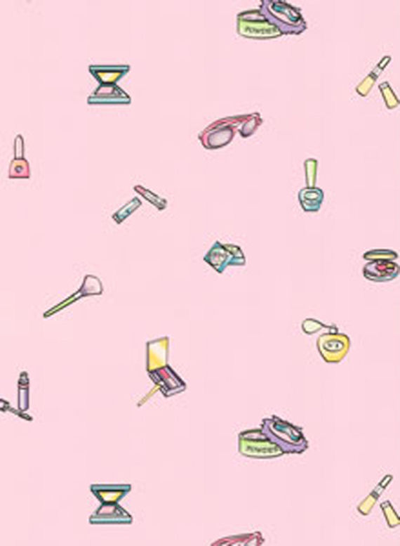 Pink Accessories Wall Paper