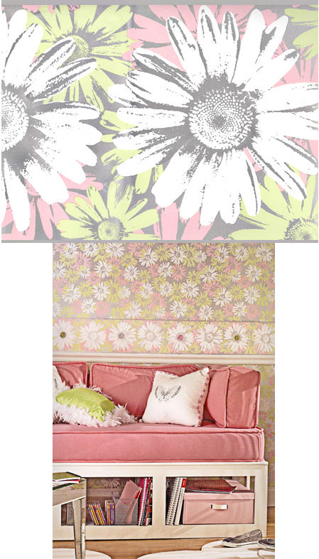 peace and love wallpaper border. Floral Wallpaper Border