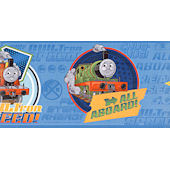 Blue Thomas and Friends Wallpaper Border