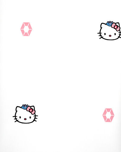 Hello Kitty White Princess Wallpaper - Kids Wall Decor Store