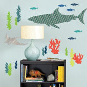 Wall Pops Zoo Wallogy Bart the Shark  Decal