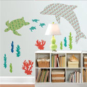Wall Pops Zoo Wallogy Daphne The Dolphin  Decal