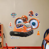 Fathead Paw Patrol Zumas Hovercraft Wall Decal